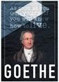 Decarthome Goethe Poster Renkli